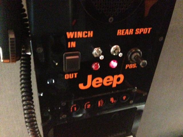 Rear Golight Motorized Spot Light Install Jk Forum Com
