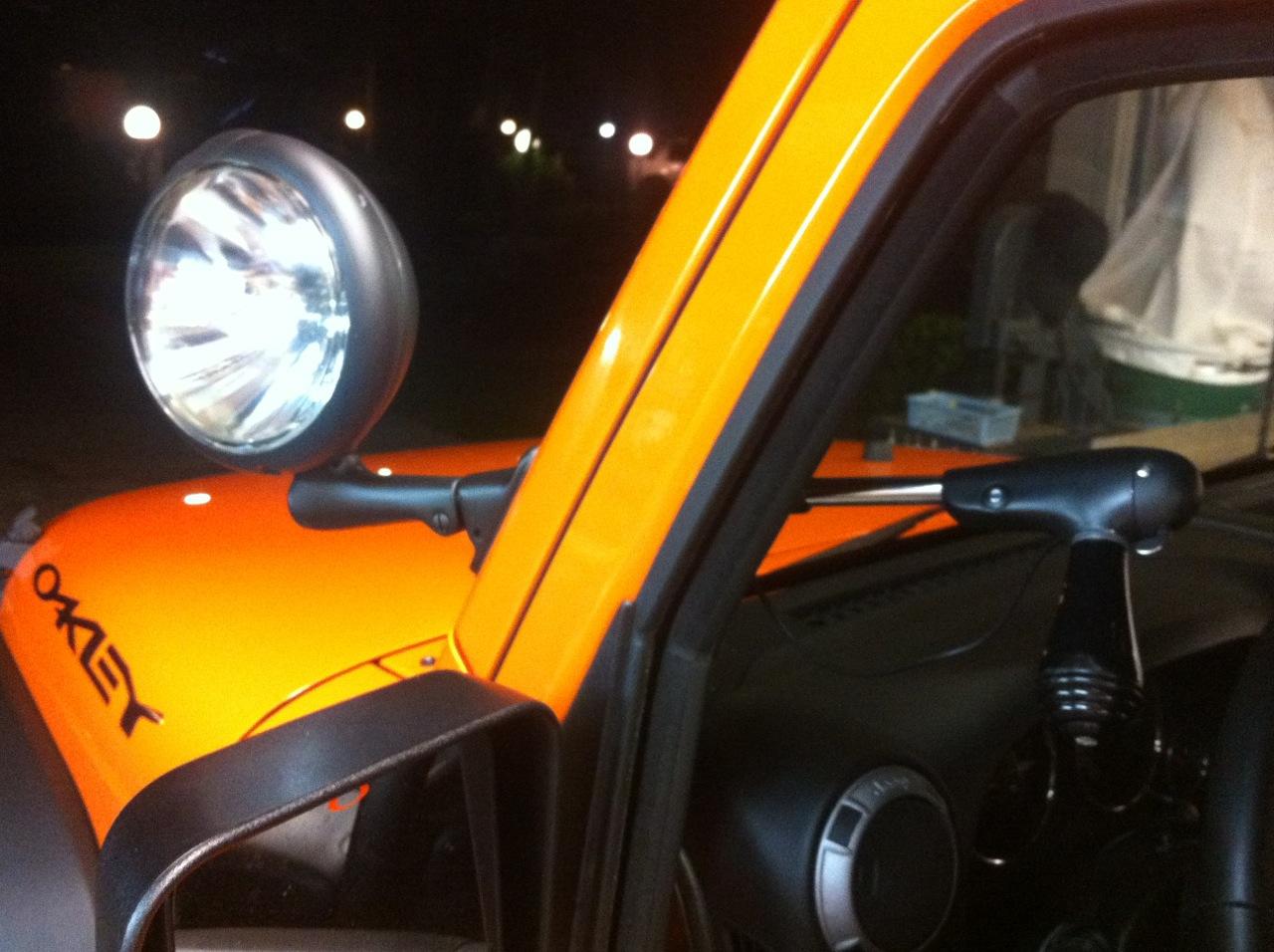 Rear Motorized Golight Install Jeepforum Com