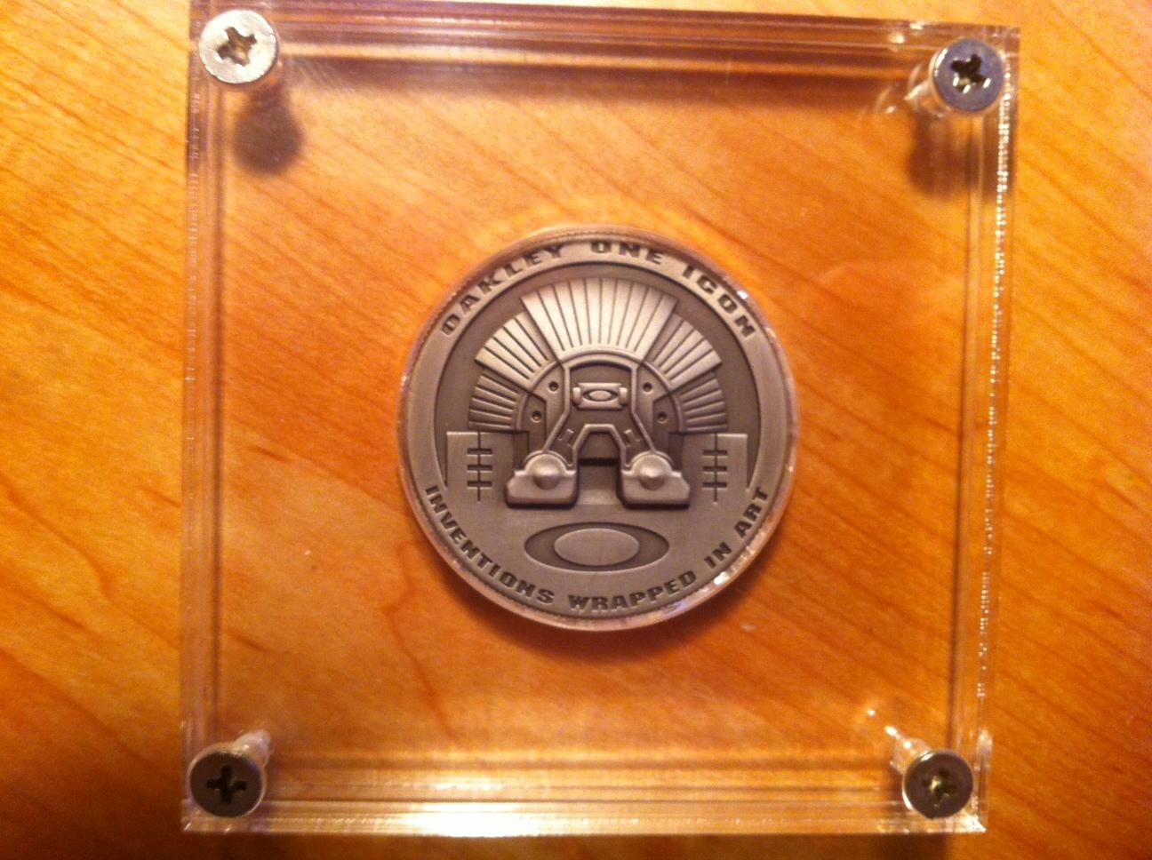 oakley coin